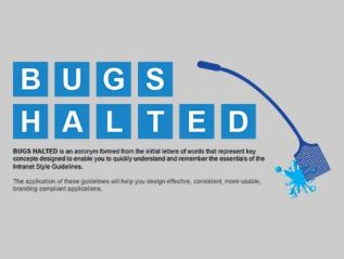 BUGS HALTED Infographic