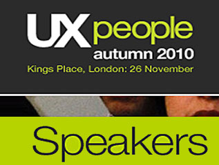 Conference Speaker – UX People 2010