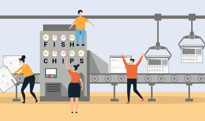 Improve content with FISH & CHIPS